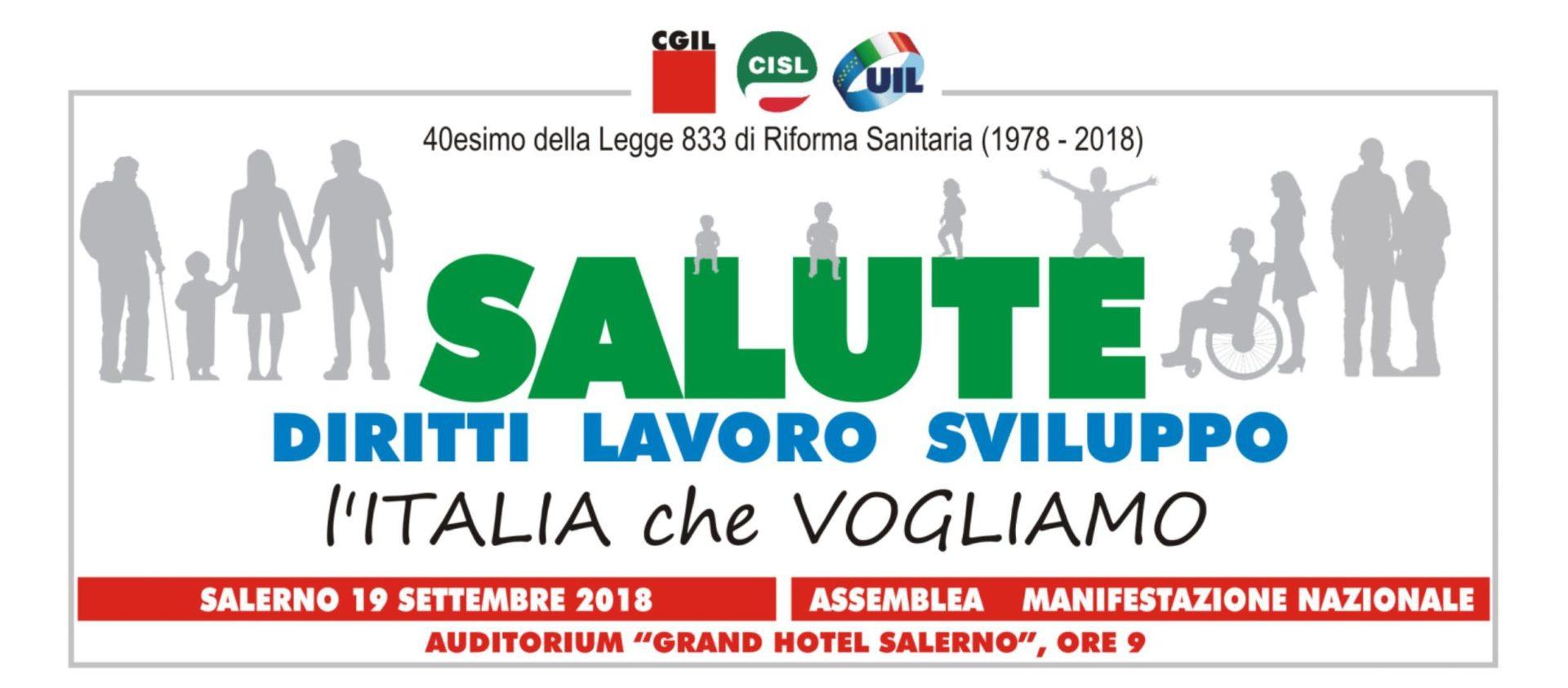 Manifesto Salerno Sistema sanitario nazionale