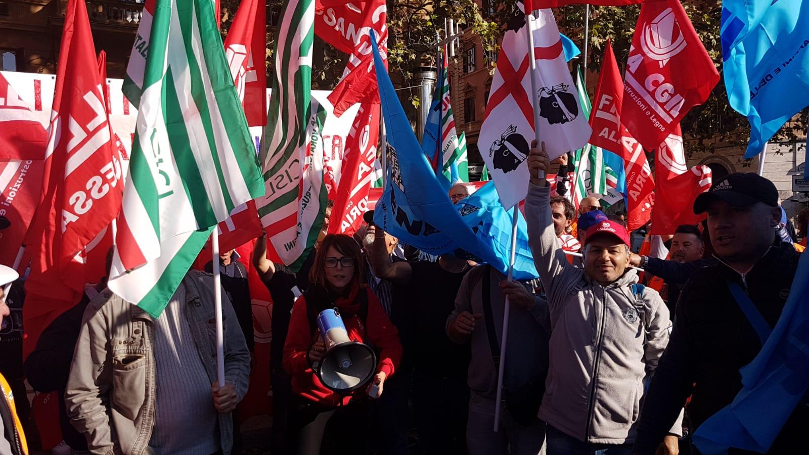 Terzo Valico manifestazione a Roma