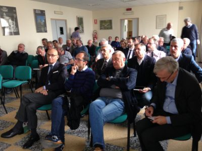 Sala del convegno sul cattolicesimo politico