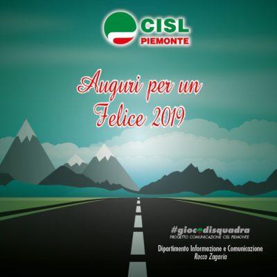 Buon Anno dalla Cisl Piemonte