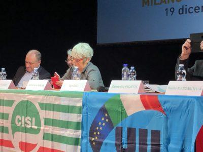 """Manovra, Furlan (Cisl): """"Ora il Governo rispetti la parola. Confronto con il sindacato o iniziativa nazionale"""""""