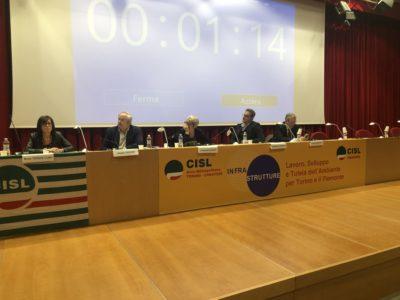 La Cisl fa il punto sulle Infrastrutture a Torino e Piemonte con Chiamparino e Furlan