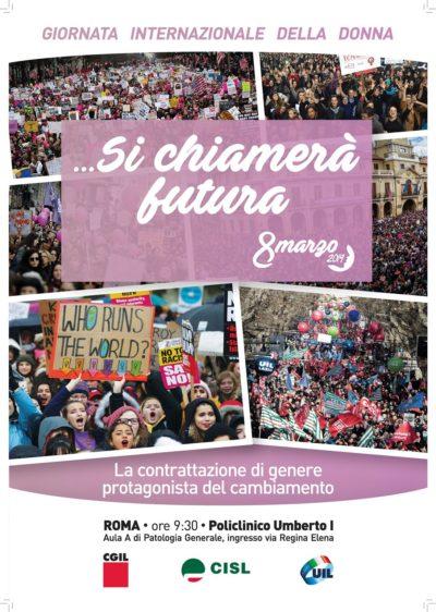 8 marzo 2019 Roma -