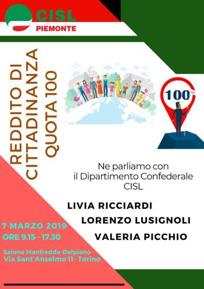 Locandina 7 marzo 2019