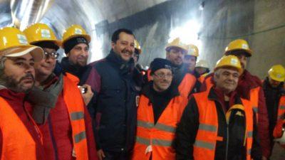 "Tav, Turri (Filca-Cisl): ""Salvini ha tradito gli operai"""
