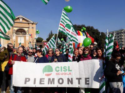 Scuola: il 12 marzo giornata di mobilitazione in tutta Italia. A Torino presidio ore 15.30 davanti sede Ufficio Scolastico Regionale