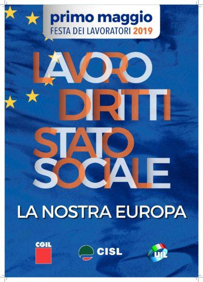 Prima Maggio 2019: i cortei e le piazze di Cgil Cisl Uil in Piemonte