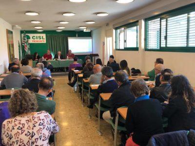 Il 13 giugno 2019 la Conferenza organizzativa della Cisl Piemonte all'hotel Atlantic di Borgaro Torinese