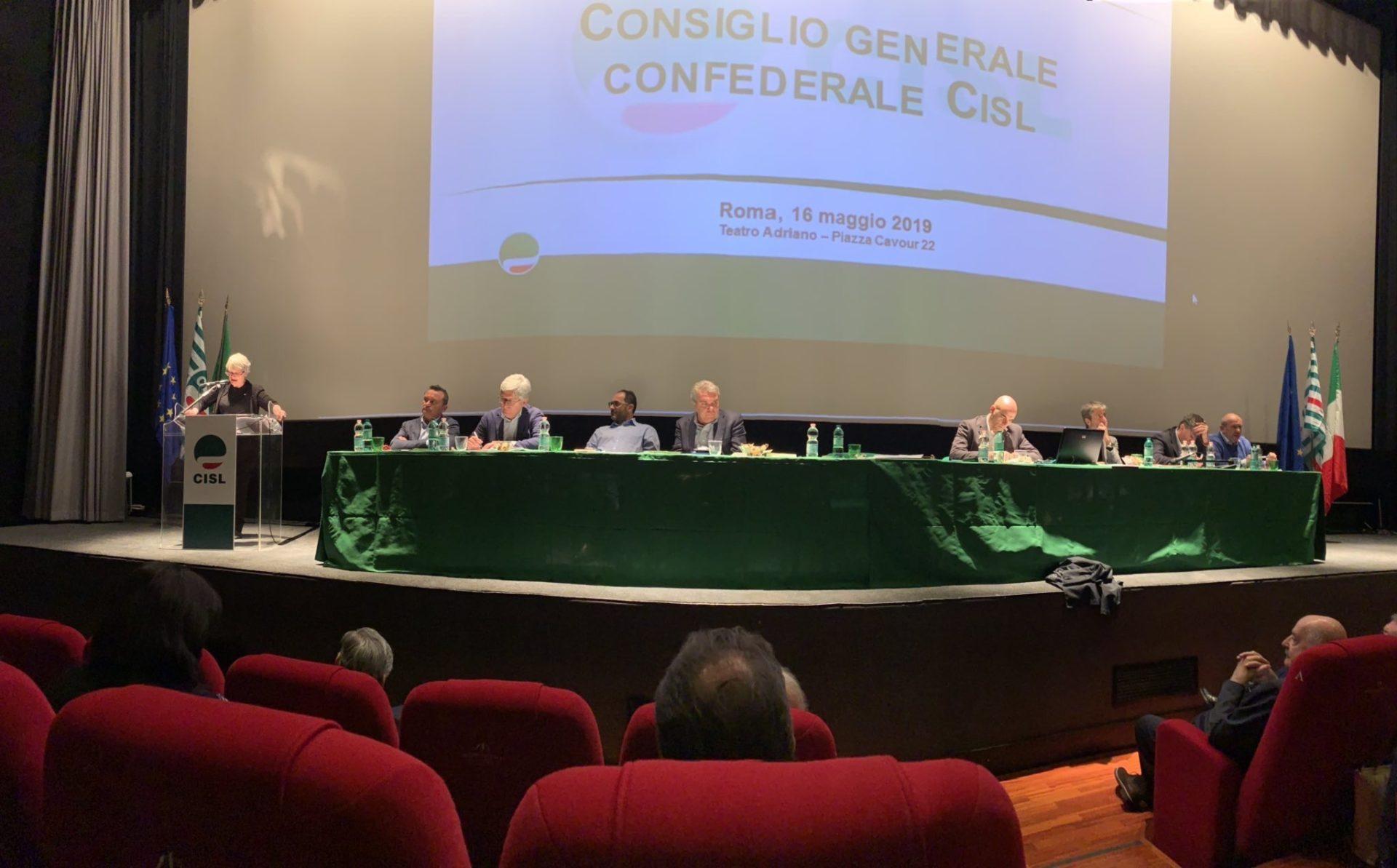 Conferenza organizzativa Cisl
