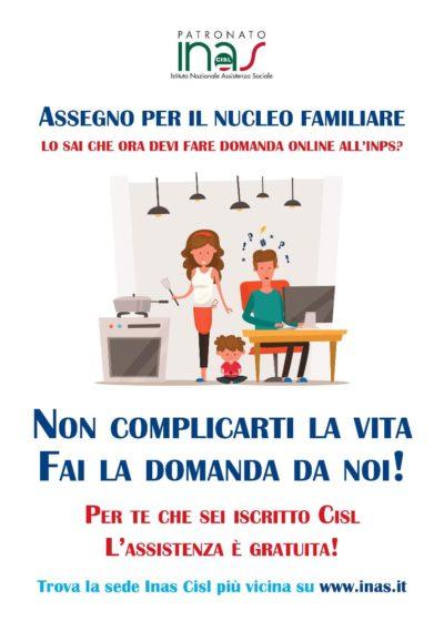 volantino Assegno Nucleo Familiare pag. 2