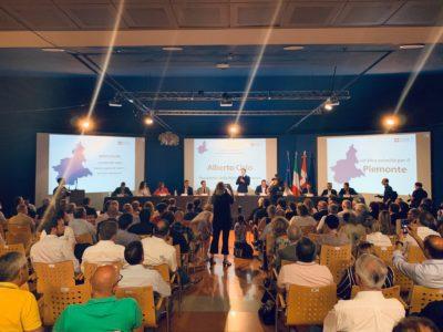 """A Novi Ligure la prima Giunta regionale """"aperta"""" sul lavoro con Cgil Cisl Uil e Confindustria Piemonte. Il presidente Cirio: """"Servono risposte concrete ai lavoratori"""""""