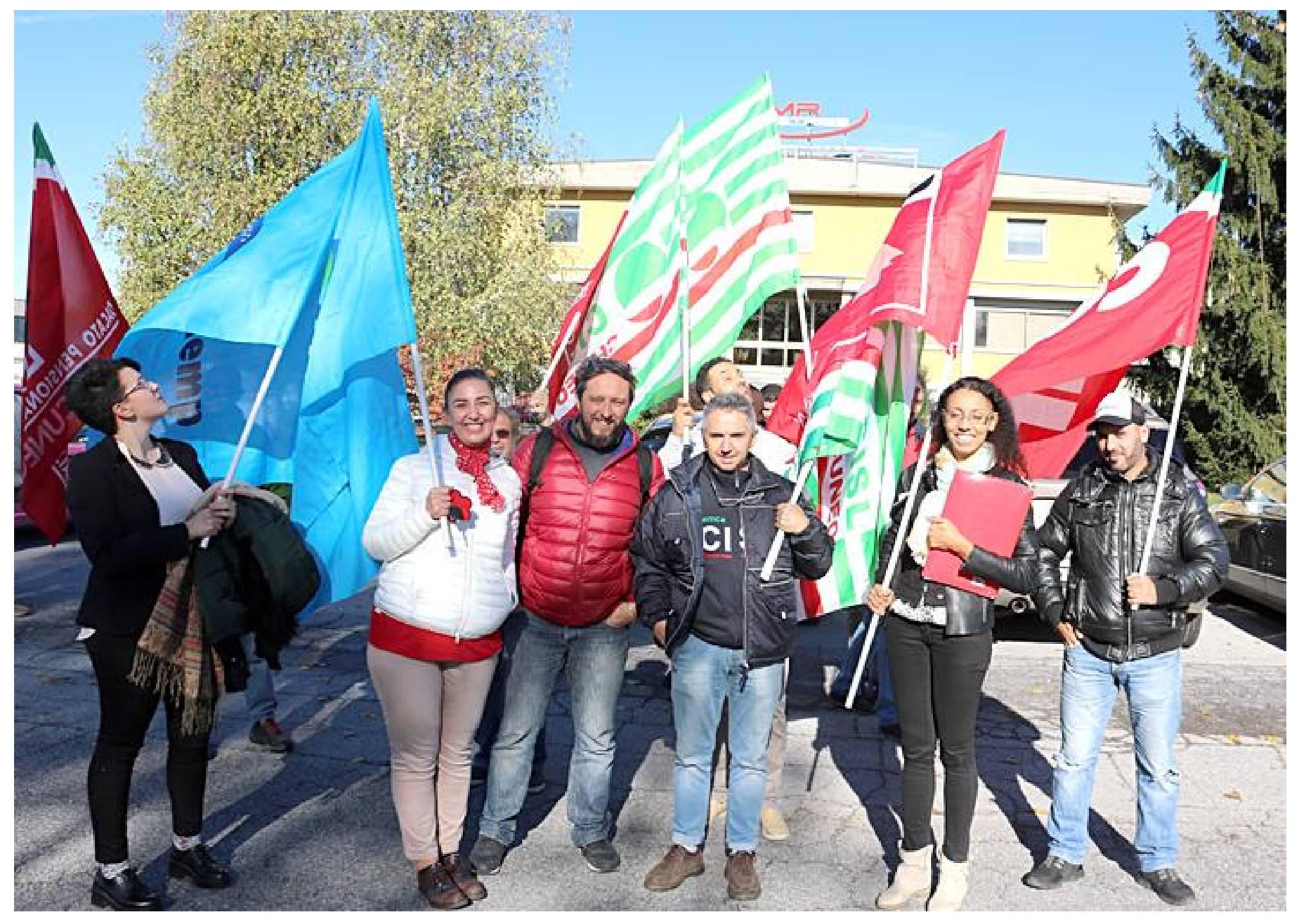 sciopero azienda IMR somminsitrati