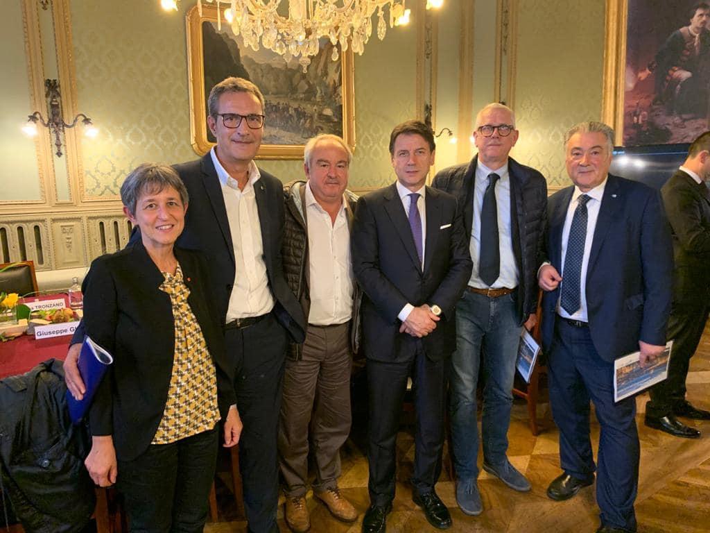 Cgil Cisl Uil Torini-Piemonte insieme a Conte