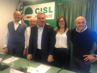 Luca Caretti nella segreteria regionale Cisl