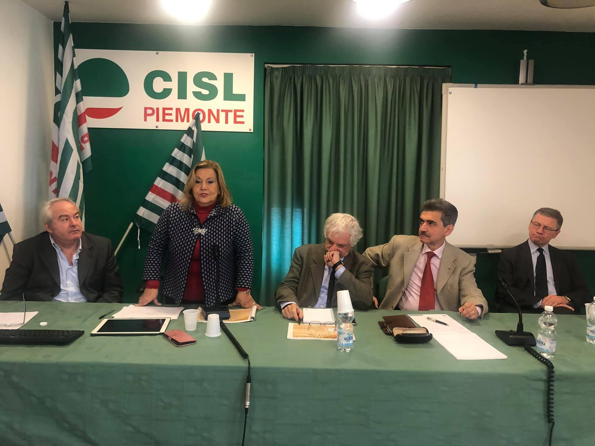 Caf Cisl riunione a Torino
