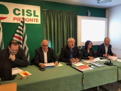 Il presidente nazionale di Inas Gigi Petteni ai lavori del Comitato esecutivo Usr