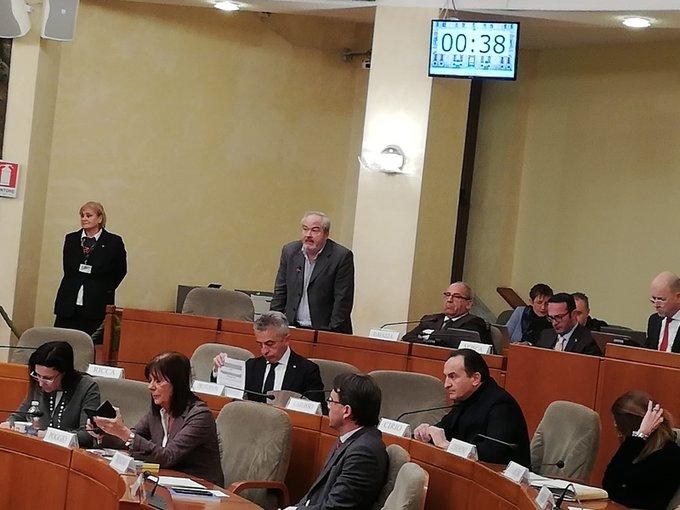 Ferraris in Consiglio regionale per emergenza occupazionale