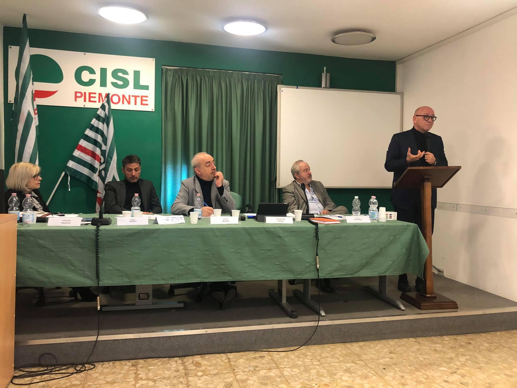 Vitale al Consiglio generale Fistel Piemonte