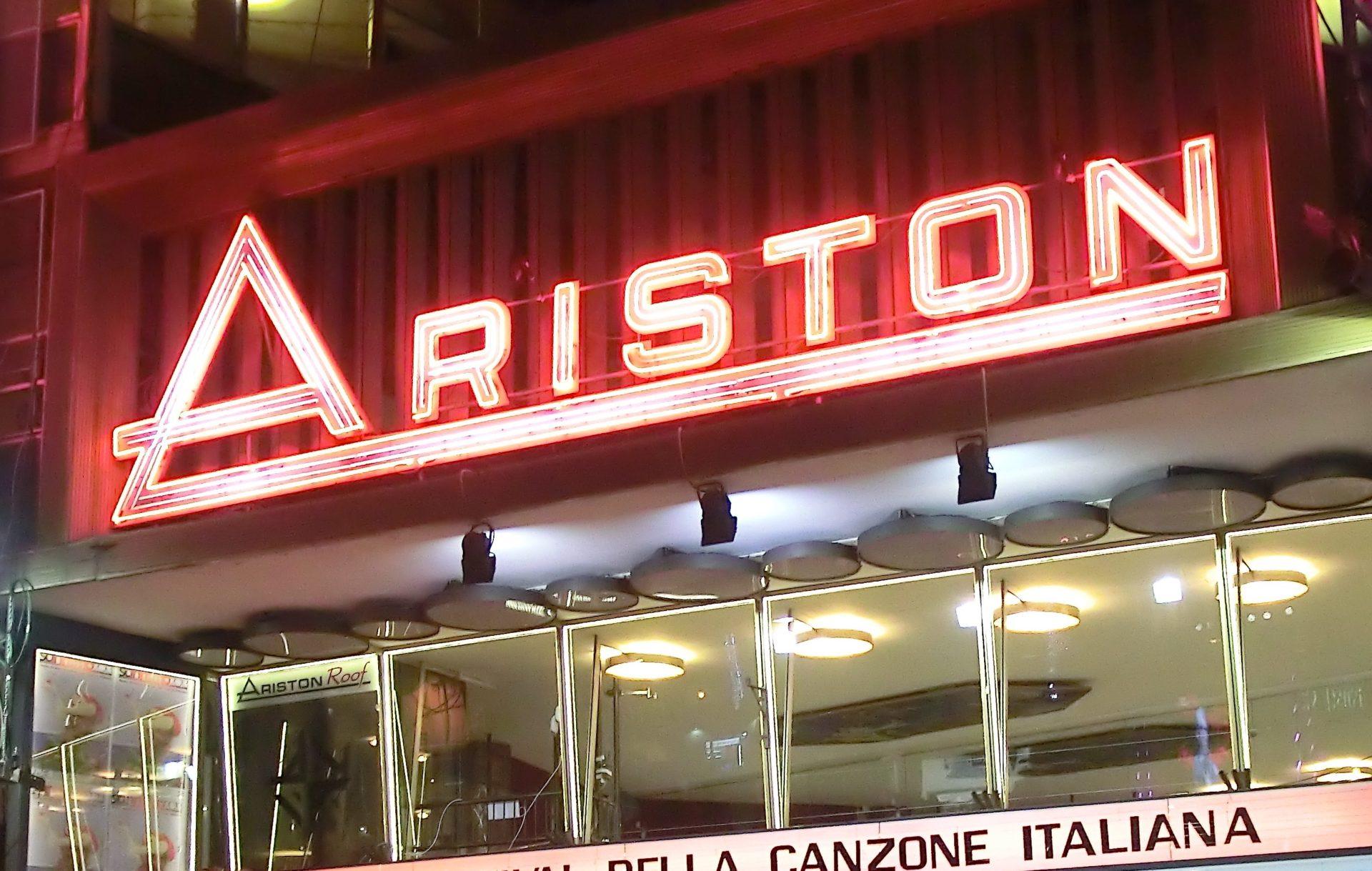 Festiva di Sanremo 2020 teatro-ariston