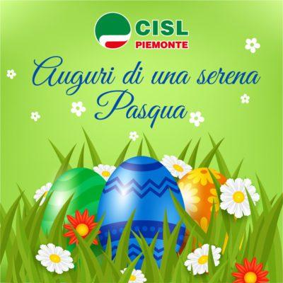 Buona Pasqua dalla Cisl Piemonte. Il messaggio del segretario generale Ferraris