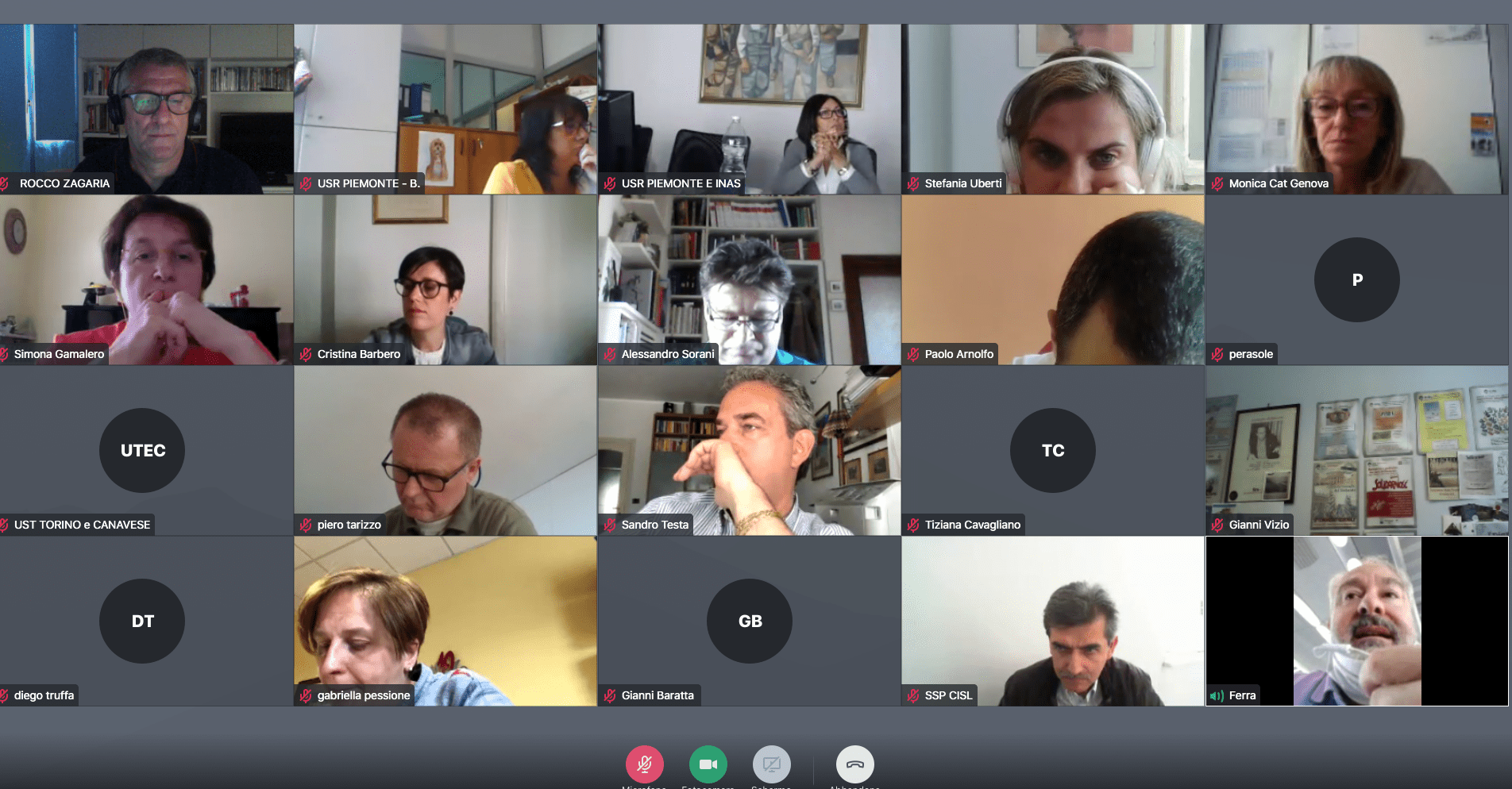 Seminario online cisl piemonte comunicazione digitale