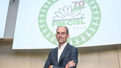 Roberto Benaglia è il nuovo segretario generale della Fim Cisl