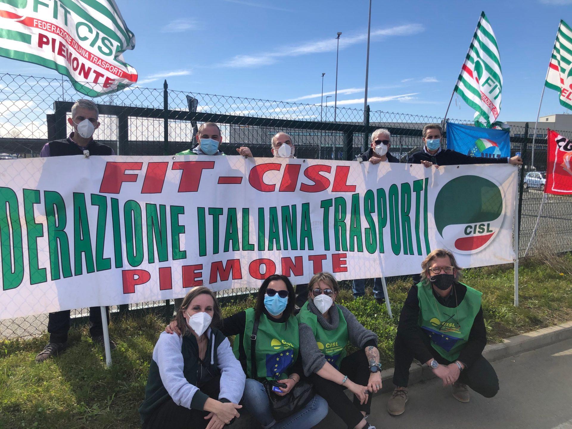 Presidio Amazon Fit Cisl a Torrazza Piemonte