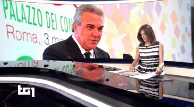 L'elezione di Luigi Sbarra a segretario generale della Cisl nel servizio del Tg 1delle ore 20