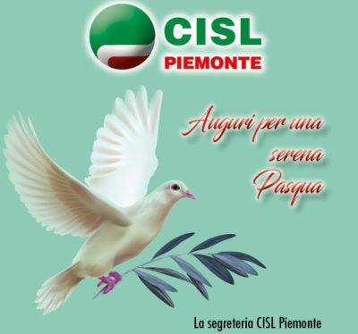 Buona Pasqua dalla Cisl Piemonte