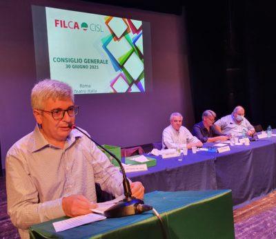 Enzo Pelle è il nuovo segretario generale della Filca Cisl