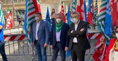 Torino tra le piazze nazionali della mobilitazione unitaria di Cgil Cisl Uil del 26 giugno