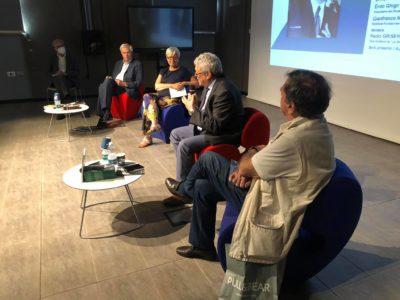 Furlan al Polo del '900 di Torino per la presentazione del libro su Franco Marini