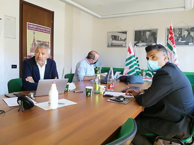 Stellantis gigafactory conferenza stampa Uliano provenzano