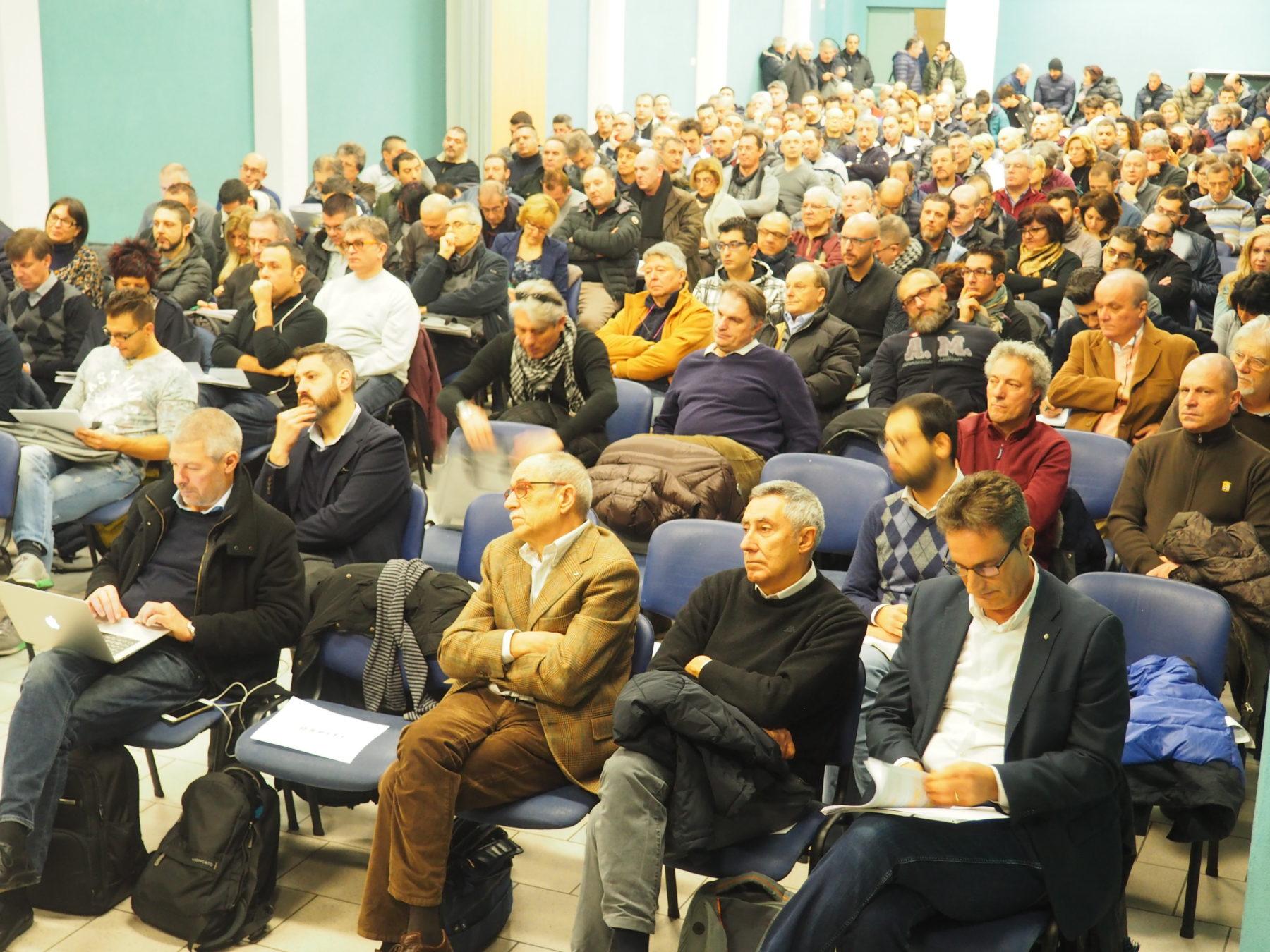 Pubblico in sala primo piano