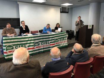 Direttivo di fine anno per i pensionati Cisl di Torino-Canavese