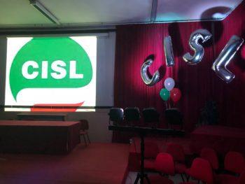 Una festa per l'inizio della campagna elettorale rsu della Cisl Fp Torino-Canavese