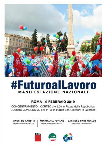 Manifestazione unitaria del 9 febbraio a Roma, giovedì 7 la conferenza stampa dei tre segretari generale di Cgil Cisl Uil Torino