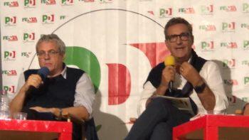 Il segretario Cisl Lo Bianco alla Festa de L'unità di Torino