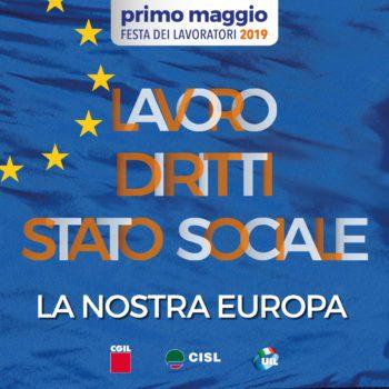 Primo Maggio '19 a Novi ed Asti per rimettere al centro lavoro, diritti, ed un'Europa sociale