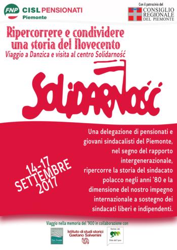 Viaggio del ricordo a Danzica per la visita del Centro Solidarnosc