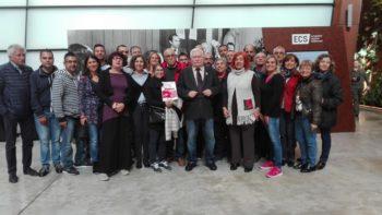 Nel cuore della storia: la delegazione della Cisl Piemonte guidata dalla Fnp incontra a Danzica Lech Walesa