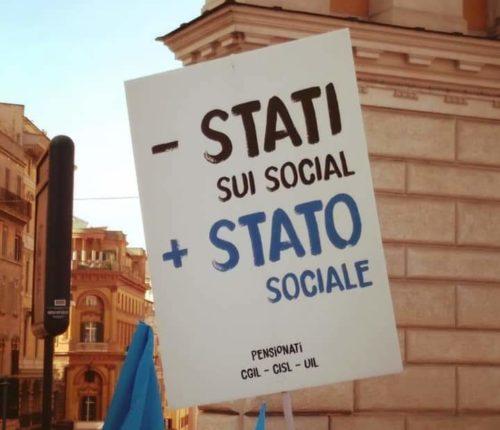 Meno social, più stato sociale