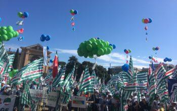 "I nostri pensionati alla manifestazione ""Dateci Retta!"""