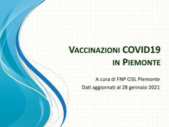 Un osservatorio FNP sulle vaccinazioni contro il coronavirus in Piemonte